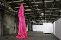 monument for a statement | mixed media on PVC | 700x180x180 cm | 2013
